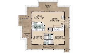 house plans with observation room mountain cottage basement foundation 2376 sf southern cottages