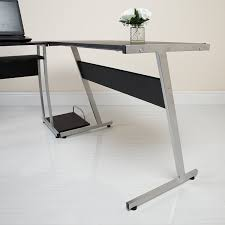 Stylish Computer Desk by L Shaped Computer Desk Uk Innovative L Shaped Black Computer Desk