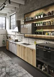 industrial kitchens design kitchen design cool outstanding wood glass and metal shape the
