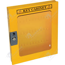 Key Cabinets Key Cabinets Key Safes Yellow Key Cabinet For 60 Keys With Clear