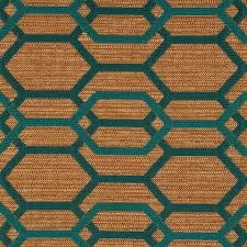 Home Decor Material by Teal Green Geometric Upholstery Fabric Teal Furniture Fabric