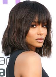 ciara long bob with bangs haircuts ciara long bob with bangs haircuts