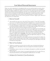 Resume Personal Statement Sample by Sample Personal Statement 8 Examples In Pdf