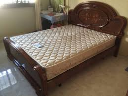 Seahorse Bed Frame Moving Size Bed Mattress 200 Only Singapore Classifieds