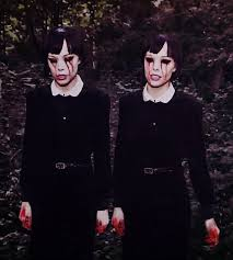 Scary Halloween Costumes 9 Olds 25 Twin Costumes Ideas Twin Girls