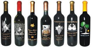 anniversary wine bottles engraved wine bottles for anniversaries weddings