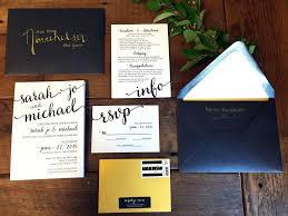 wedding invitation suite coordinating wedding invitation suite black white gold