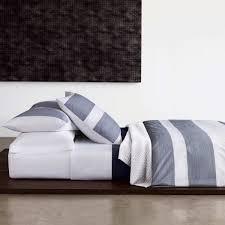 pinstripe pucker navy bedding luxury bedding u0026 bed linen bedroom