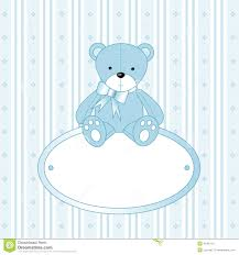 teddy for baby boy stock images image 4645704