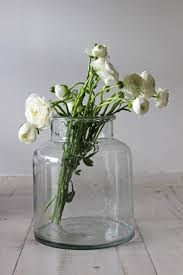 jar vases glass jar vase small or medium decor accessories