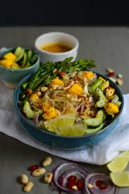 peanut rice noodle salad lea lou lea lou
