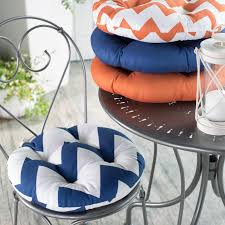 dining room great blue seat chair cushions for indoor and outdoor