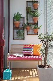 small balcony garden vertical garden wooden palete ceramic planter