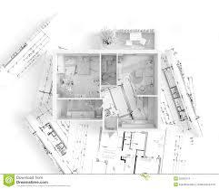 house measurements house plan top view interior design stock illustration image