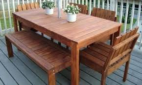 reclaimed wood outdoor table outdoor furniture plans free woodworking plans wooden table plans