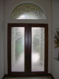 Etched Glass Exterior Doors Concorde Etched Glass Front Doors Mediterranean Design