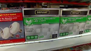 defiant led motion security light manual defiant motion activated led security light today s homeowner