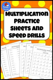 Multiplication Facts Practice Worksheets Best 25 Multiplication Practice Sheets Ideas On Pinterest