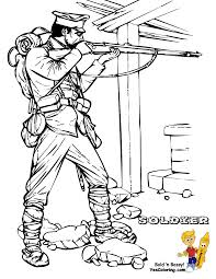 historic army coloring page military army picture civil war