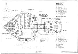 Battlestar Galactica Floor Plan Star Trek Blueprints Klingon Destroyer K U0027t U0027orr Class