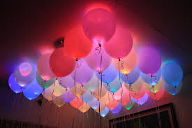 gifts online set of 25 led balloons for party festival diwali