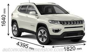 jeep cars white dimensions of jeep cars showing length width and height