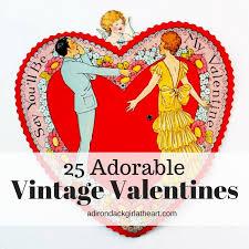 vintage valentines 25 adorable vintage s hop link party