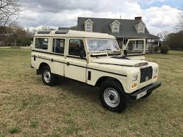 land rover series iii clean 1980 land rover defender santana series iii offroad for sale