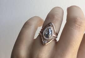 black wedding rings for custom cut black diamond engagement ring
