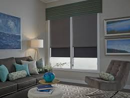 Interior Blue Shades Blinds Drapes And Shutters Lafayette Interior Fashions
