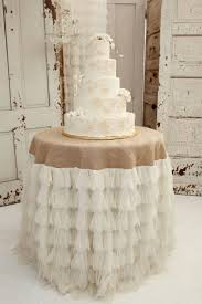 dining room entrancing wedding table decoration using ruffle