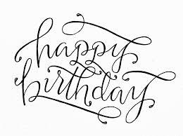 happy birthday lettering by torrie t asai u2026 pinteres u2026