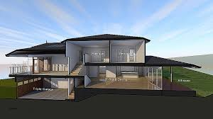 house plans for sloping lots house plan house plans for downward sloping lots house