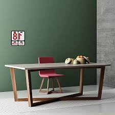 fixed tables in modern contemporary design