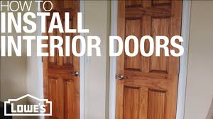 Cost To Replace Interior Doors And Trim How To Install Interior Doors Youtube