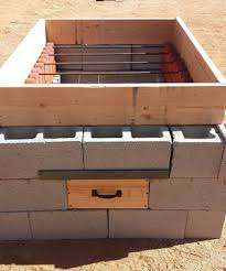 How To Build A Backyard Bbq Pit by Building A Hog Pit From Concrete Blocks