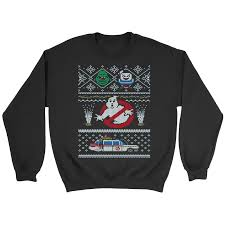 ghostbusters sweaters totally awesome retro