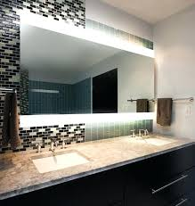 Frameless Bathroom Mirror Big Frameless Wall Mirrors U2013 Rishabkanwal Me