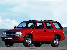 opel blazer chevrolet blazer 5 doors specs 1995 1996 1997 1998 1999