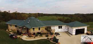 a metal roof is the perfect fit for deltec homes schroer u0026 sons