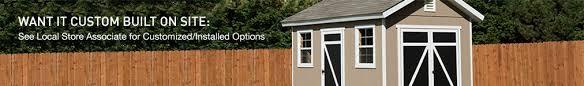 shop sheds u0026 outdoor storage at lowes com