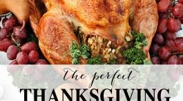 thanksgiving dinner turkey tablescape and more with whole foods