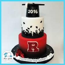 graduation cakes rutgers graduation cake ii blue sheep bake shop