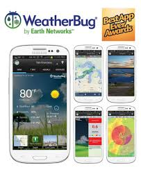 the best weather app for android weatherbug for android named best weather app by popular vote