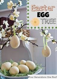 Easter Decorations Tree by How To Decorate Easter Eggs Easter Tree Four Generations One Roof