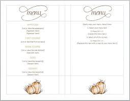 thanksgiving thanksgiving dinner menu template images amp