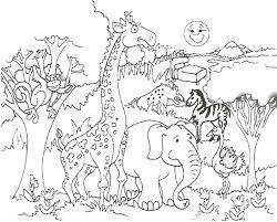 happy animal coloring sheets top coloring idea 2178 unknown