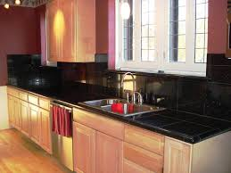 black tile backsplash ideas for granite countertops furniture