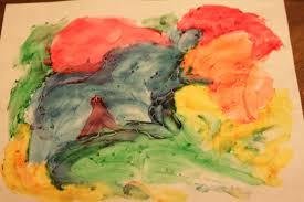 is it time to color painting parents finger paint