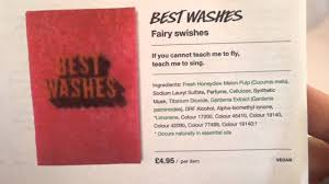 lush u0027best washes u0027 wash card youtube